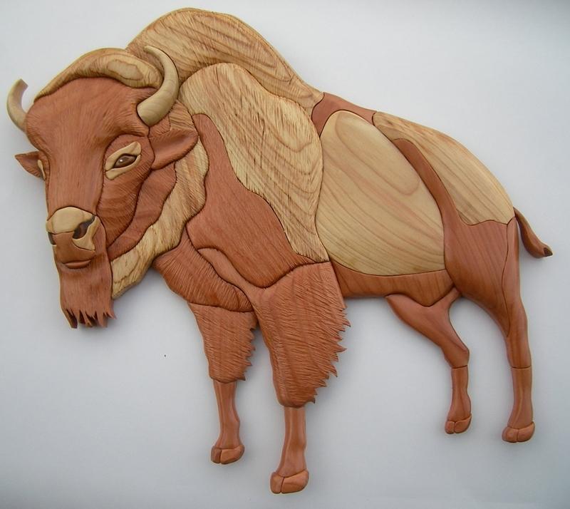 Картинки деревянного быка