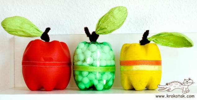 Из чего сделать яблоко