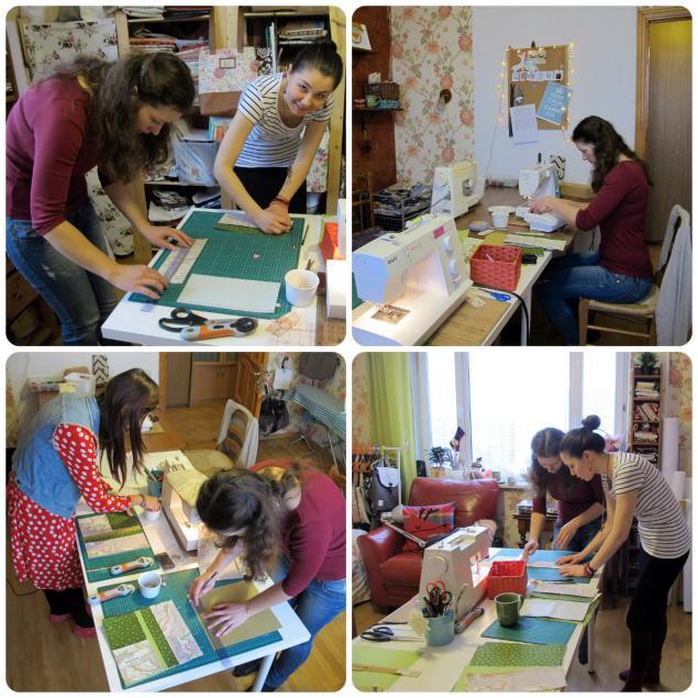 мастер-класс, текстильный дизайн, научиться шить сумку, как сшить косметичку