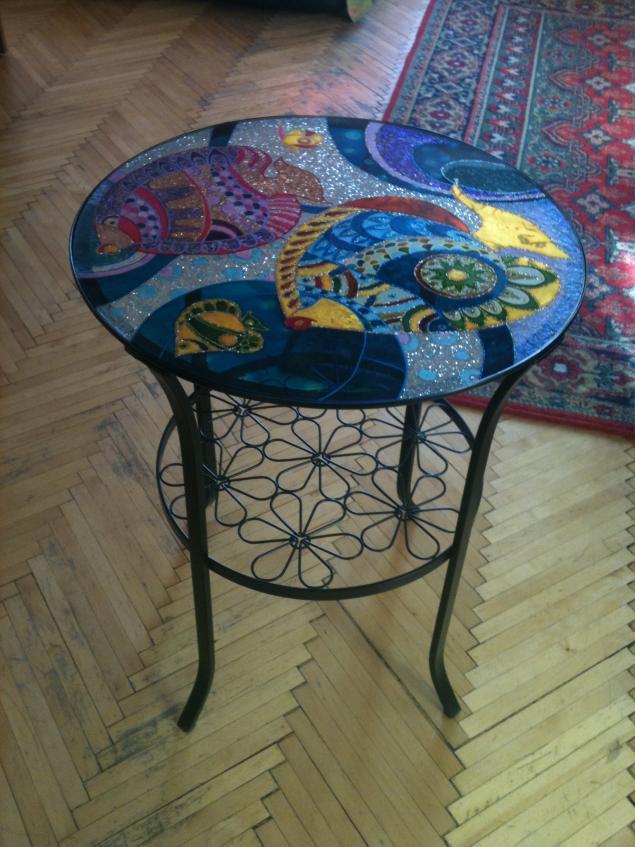 чайный столик, декор мебели