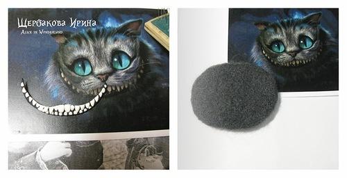 Чеширский кот своими руками фото 897