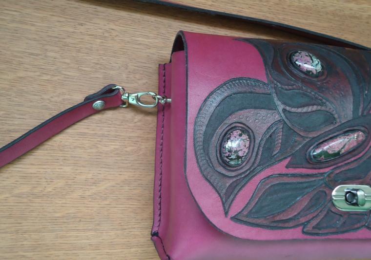 авторская ручная работа, функциональное украшение, сумка из натуральной кожи, сумка кожаная, сумка на каждый день