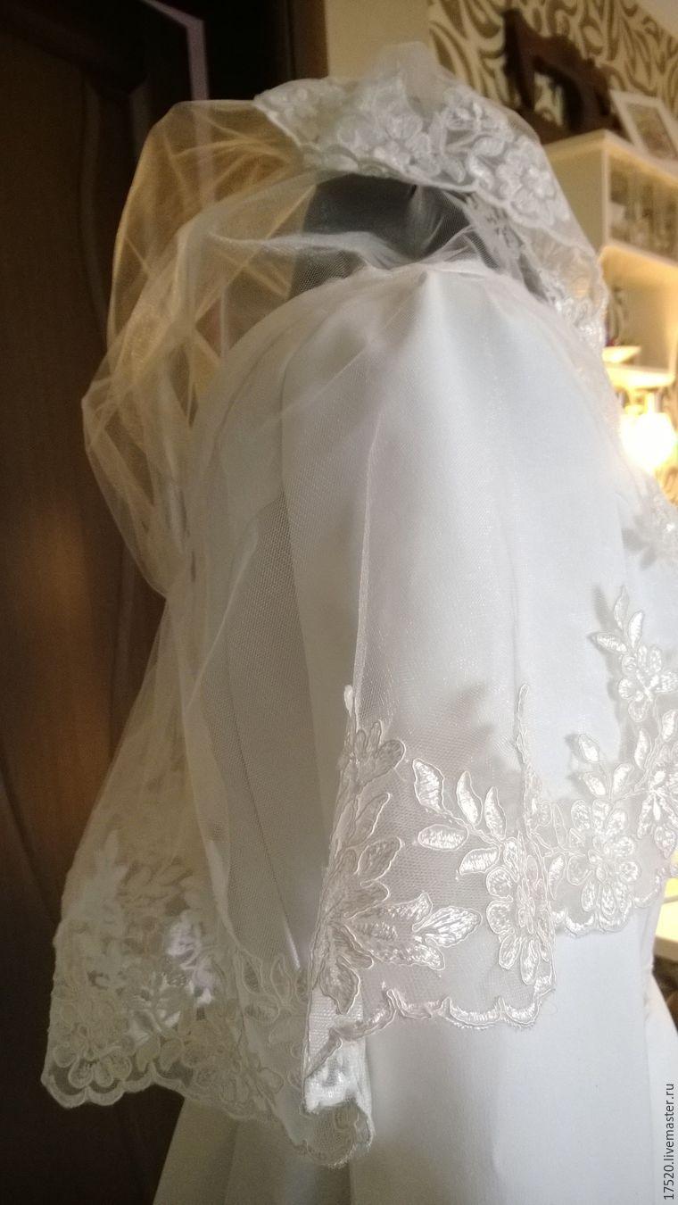 Фату для невесты своими руками 662