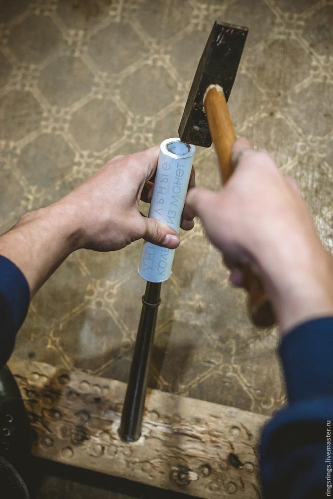 Как сделать кольцо своими руками в домашних условиях видео