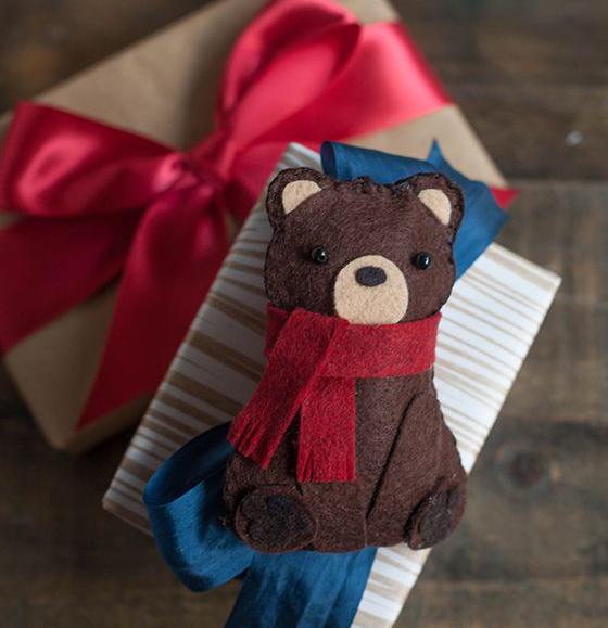новогодняя упаковка, декор подарков