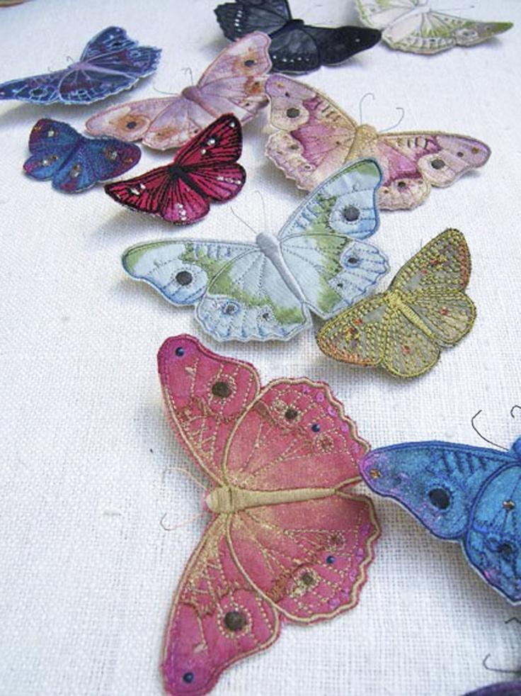 Текстильные шедевры, или Бабочки как источник вдохновения, фото № 14