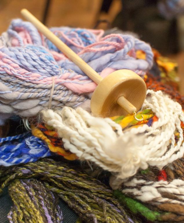 веретено, вязание