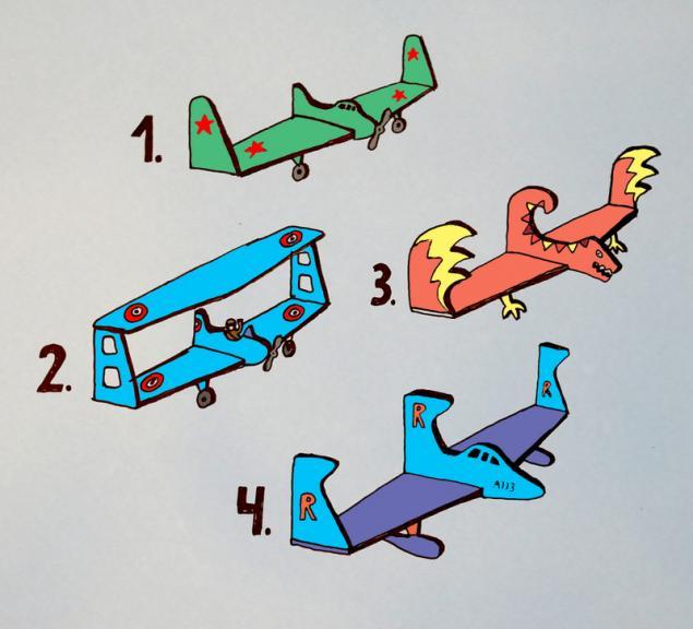 Мастер-класс по книжным полочкам-самолётам от Мастерской №13, фото № 1