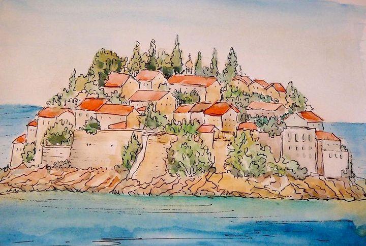 арт-путешествие, зарисовки, галина лозовая