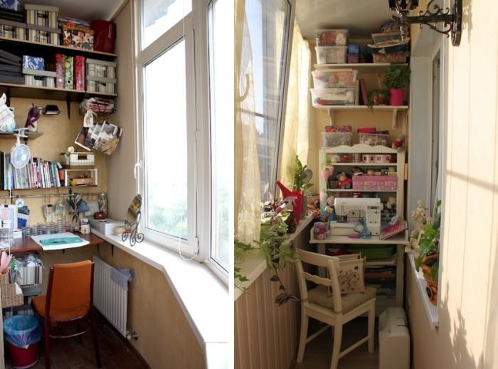 Идеи по оформлению балкона. красота и функциональность - Ярм.