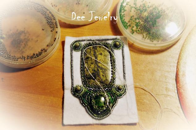 Как я осваивала вышивку бисером, фотоотчет: ))), вышивка, вышивка бисером, бисер, украшения, бижутерия