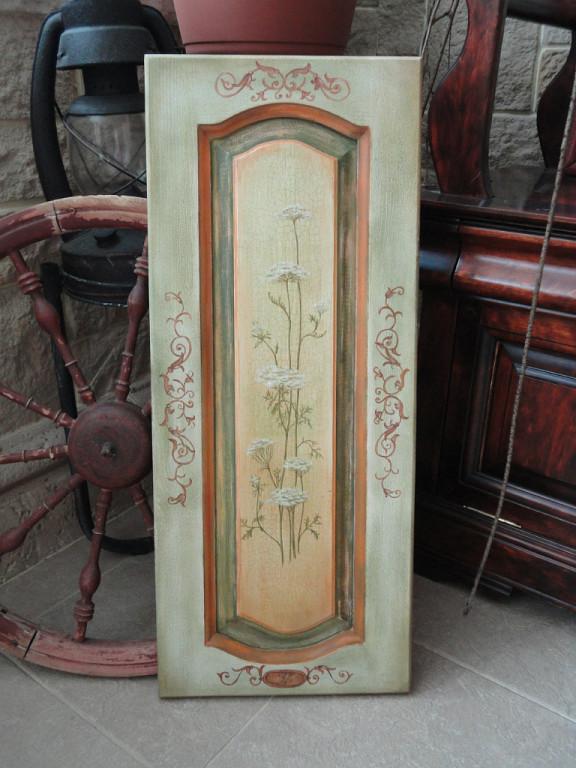 мастер-класс, роспись мебели, мебель ручной работы, обучение росписи