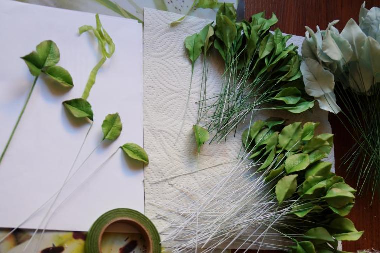 Букетики для декорации свадебного стола....., фото № 9