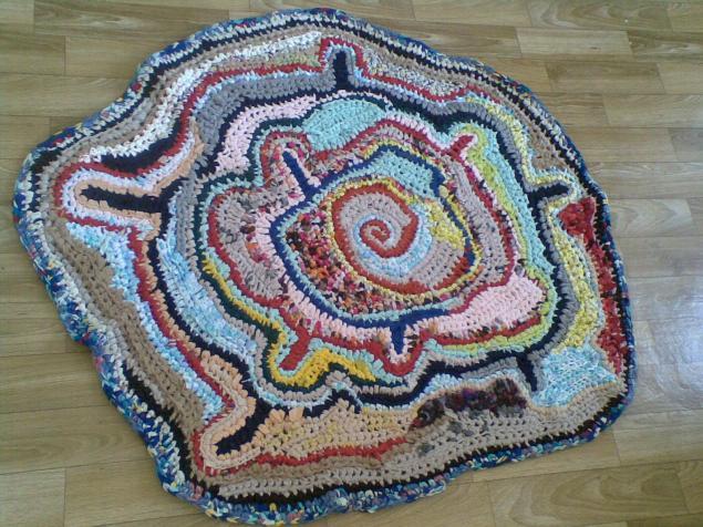 коврик, трикотаж, вязание, интерьер