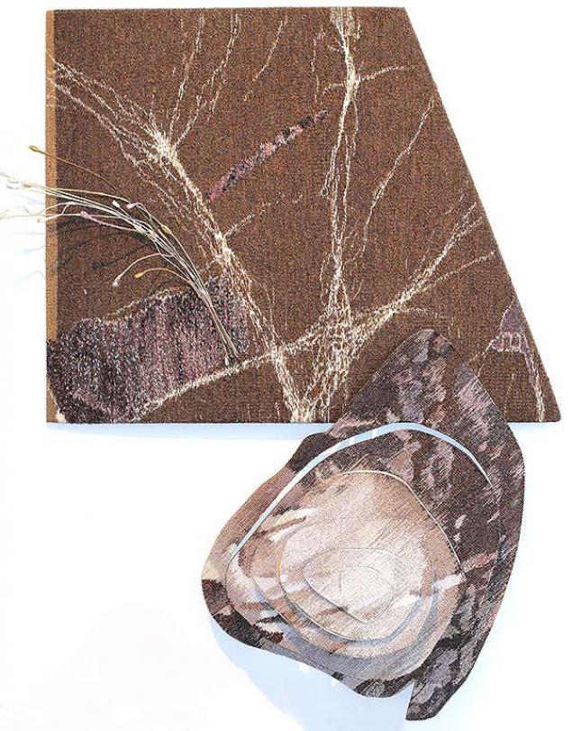 Тканый настенный ковёр шпалера в современных интерпретациях, фото № 15
