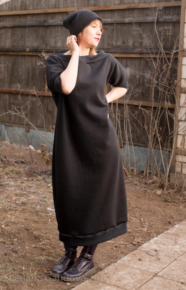sagadress, черное платье