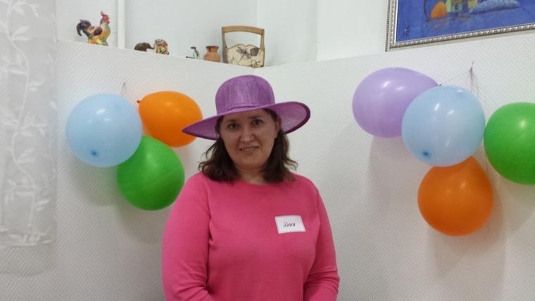 шляпка из синамей