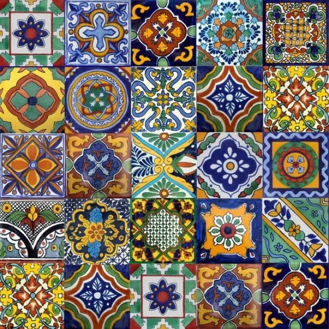 Роспись керамических плиток