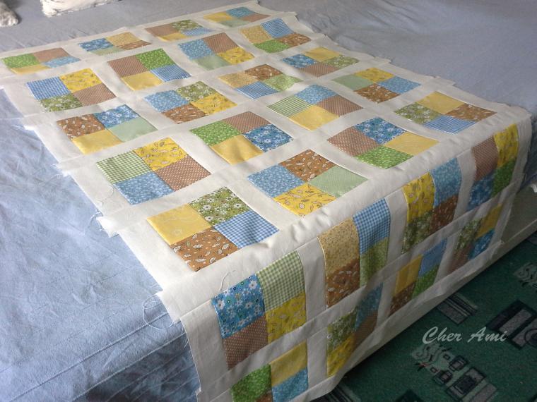 Мастер-класс: шьем несложное лоскутное одеяло, фото № 10