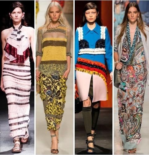 тенденции моды, мода этого лета, мода весна-лето