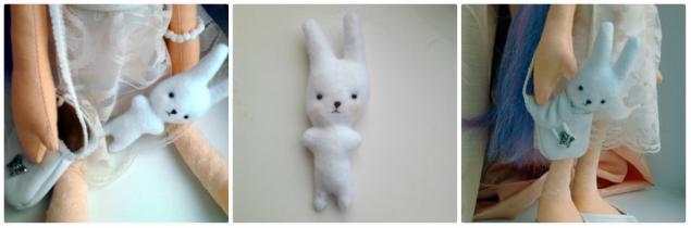 игрушка для куклы, зайка, малышка, малыш