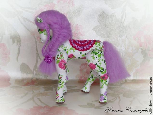 Своими руками игрушка лошадка