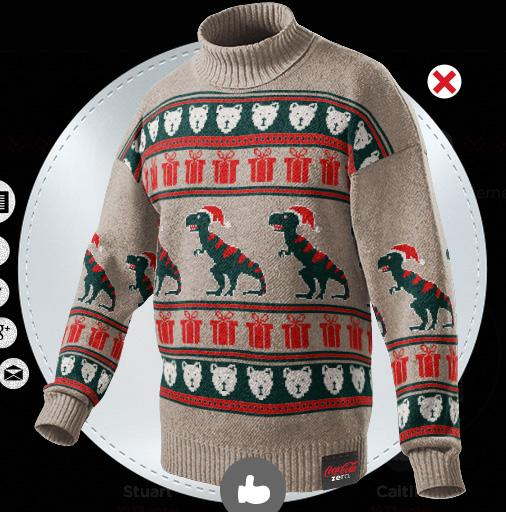 рождественский свитер, новогодний свитер