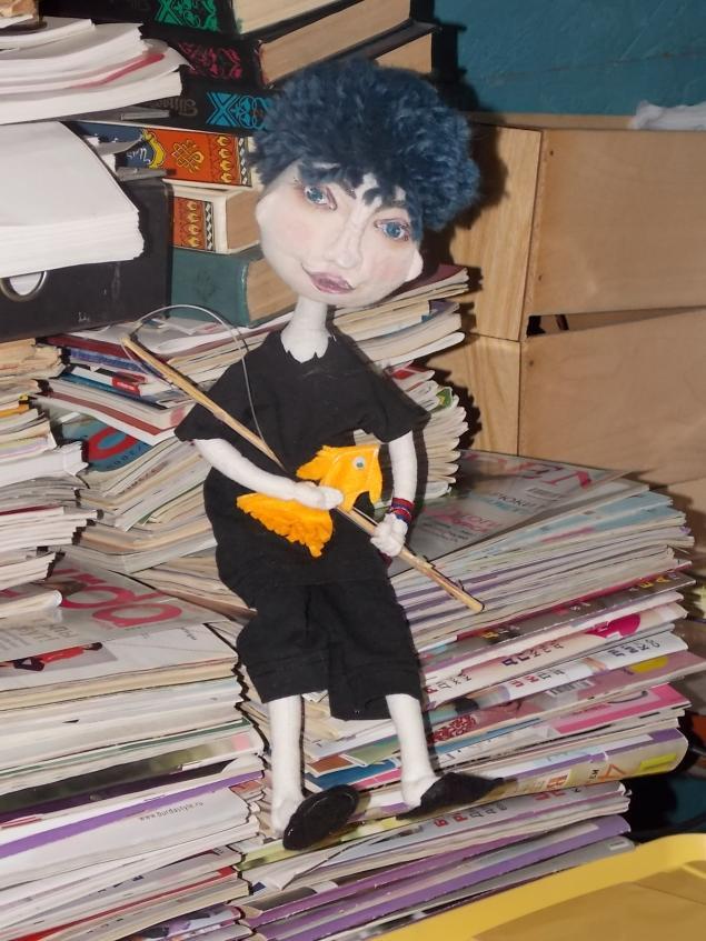 кукла своими руками, игрушка ручной работы