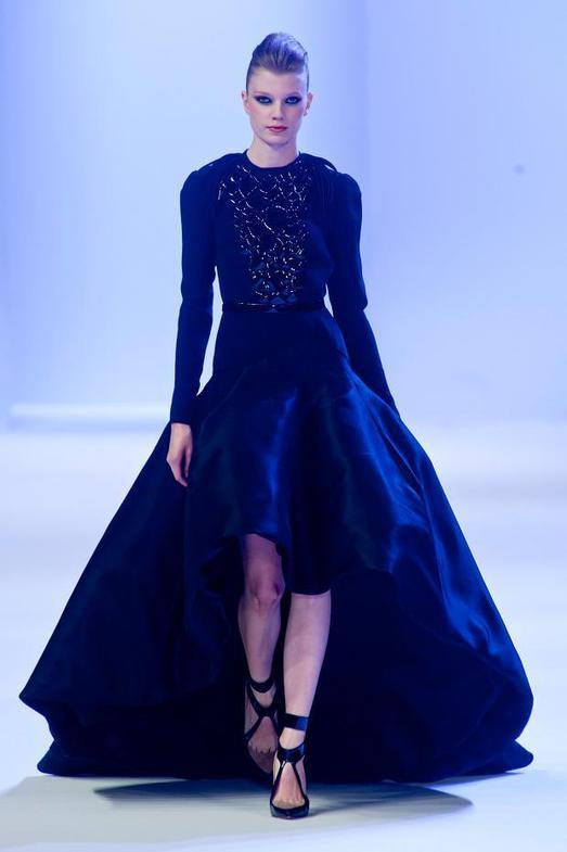 Stephane Rolland Haute Couture весна-лето 2014, фото № 11
