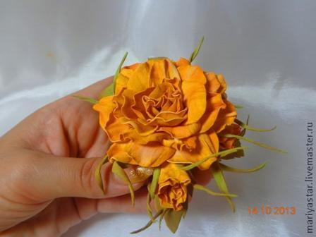 мастер классы, цветы из фом эвва, как сделать цветок