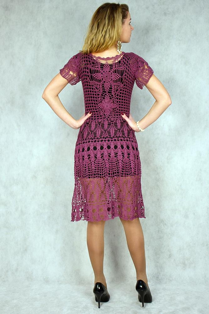 кружевные платья, вязание на заказ