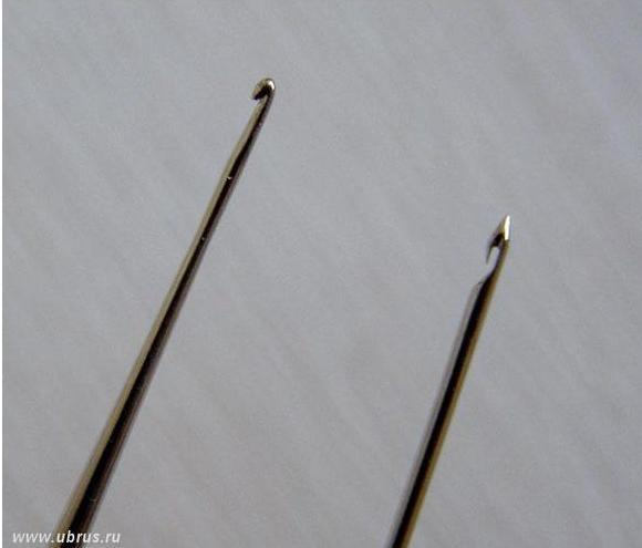 Крючок для люневильской вышивки сделать