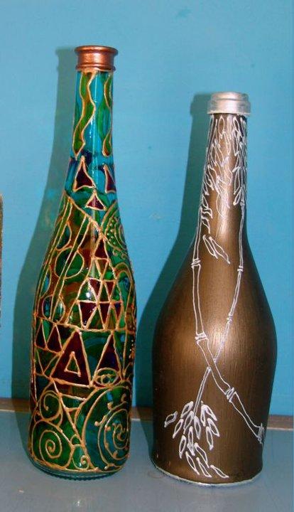 картины маслом, карандаши цветные, розы, цветы, вазы, графика, бутылки, роспись по стеклу