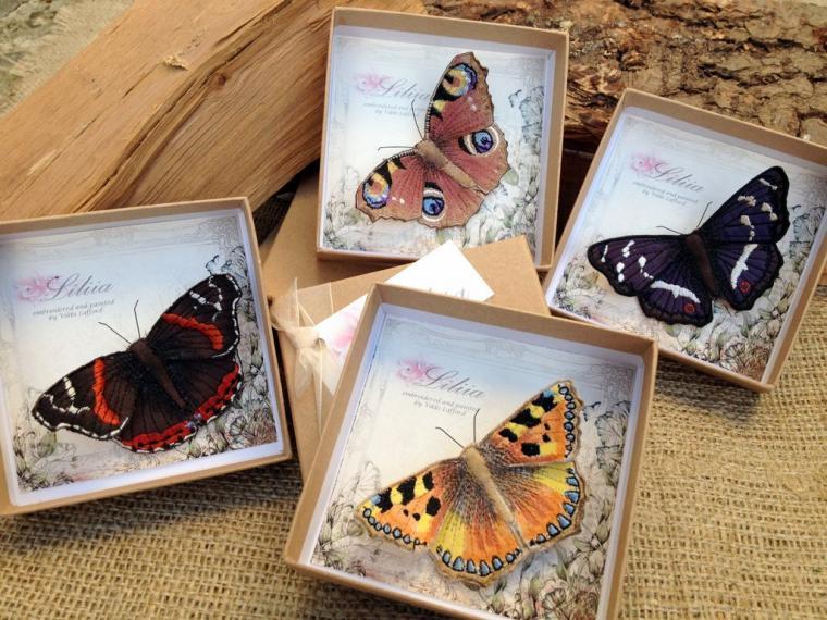 Текстильные шедевры, или Бабочки как источник вдохновения, фото № 10