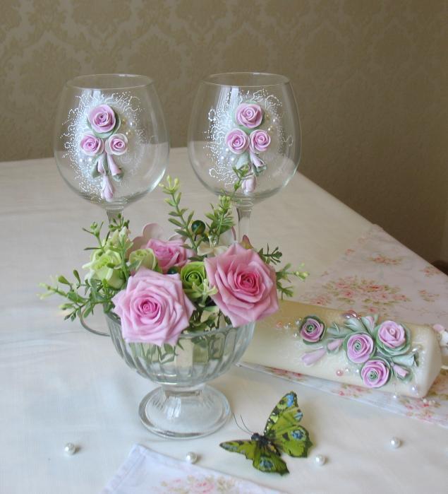романтический вечер, цветы, для дома и интерьера