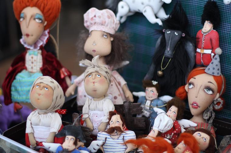 Международной выставка авторских кукол и мишек «Панна DOLL'я» в Минске. Часть 1., фото № 29
