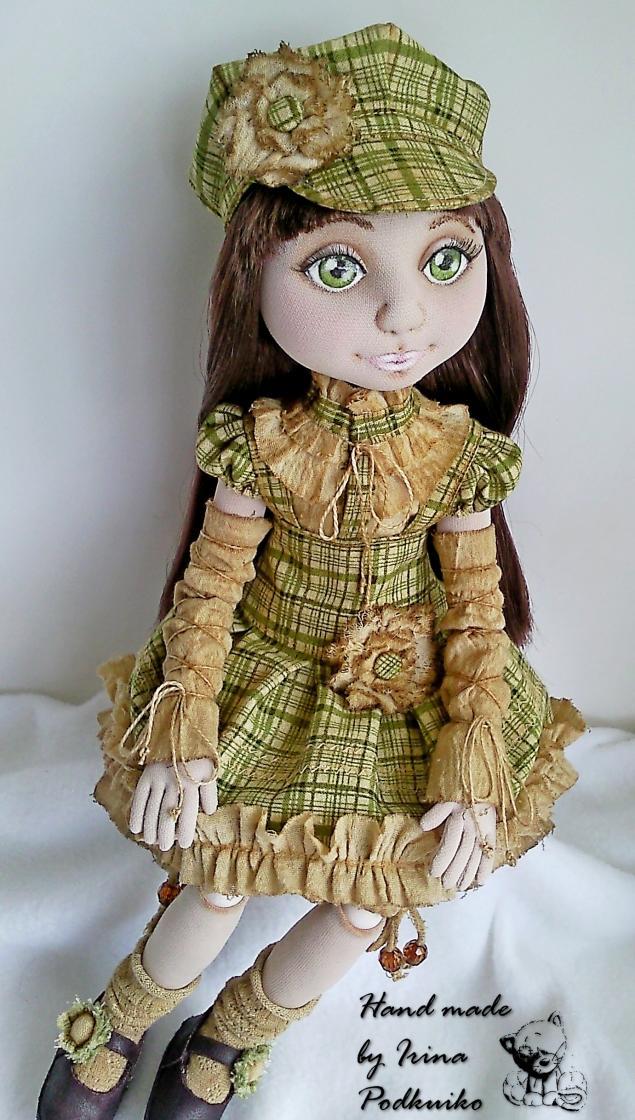трикотажная кукла