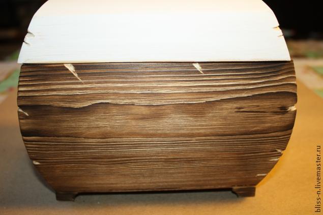 Деревянный сундук мастер класс