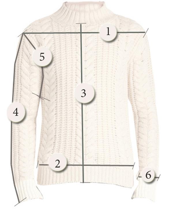 как снять мерки, вязаный свитер, вязание на машине, размер свитера, размер универсальный, свитер с оленями