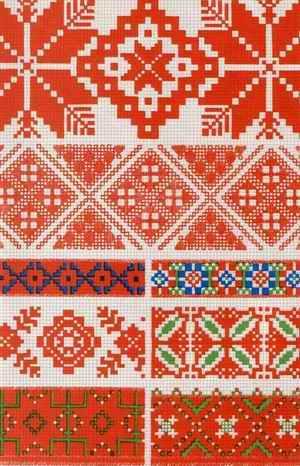 Белорусские узоры вышивок