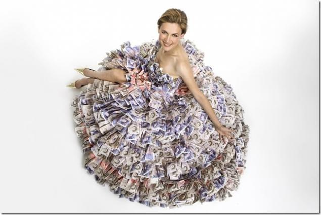 платье вязаное, для женщин