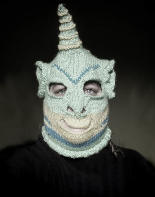 маска чудовища