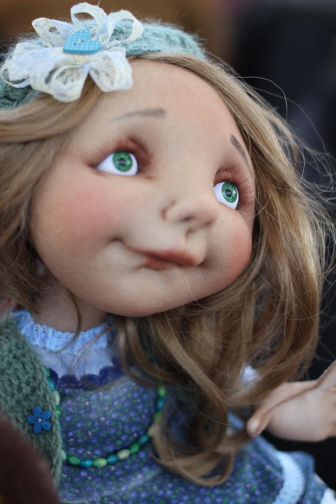 Международной выставка авторских кукол и мишек «Панна DOLL'я» в Минске. Часть 1., фото № 28