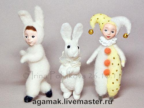елочные игрушки, куколки
