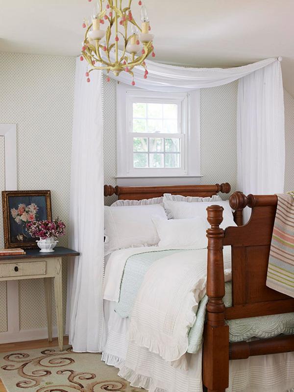 Фото как над кроватью сделать балдахин