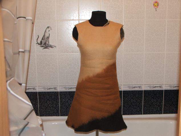 Чтобы не мялось платье из вискозы