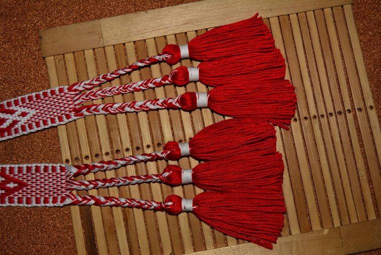 плетёный пояс