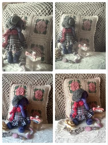 тедди, мишки тедди, плюшевый мишка, слоник, слоненок, винтажный стиль, коллекционный мишка, hand made, handmadecollection, teddy