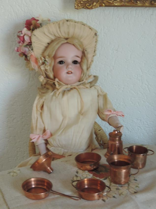 кукольная посуда