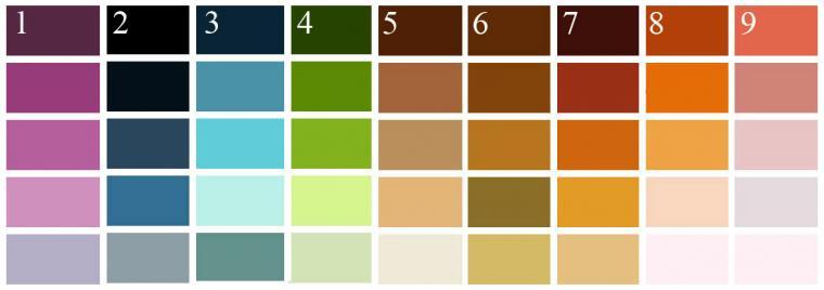 интерьер, восприятие цвета, дизайн интерьера
